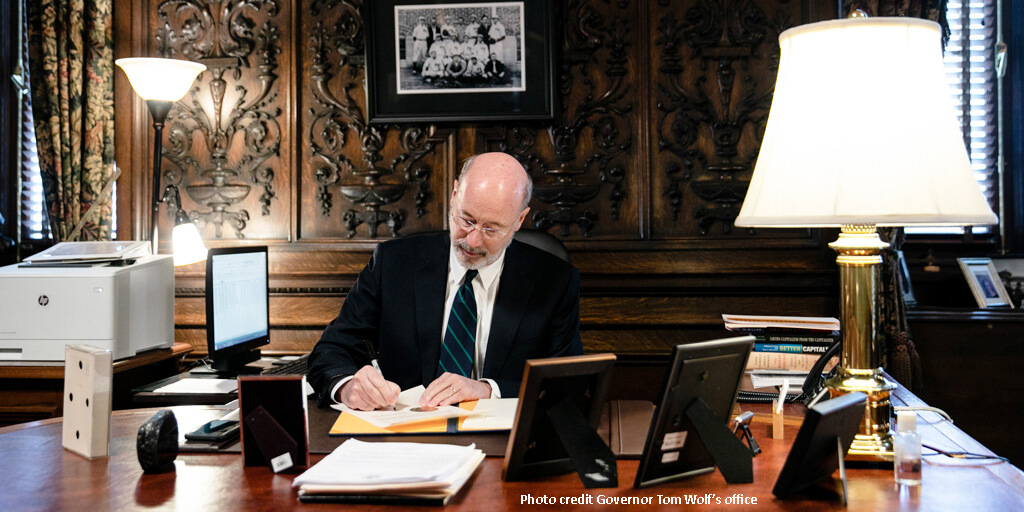 Governor Wolf Announces 'Back to Work PA' Plan